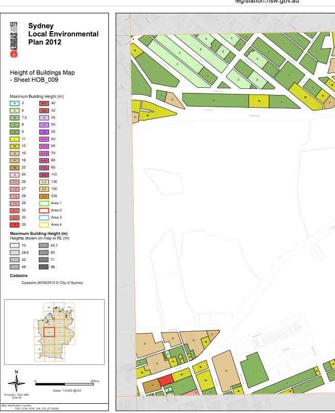 Sydney Local Environment Plan 2012